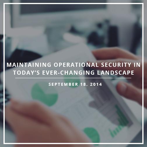 Webinar September 18 2014