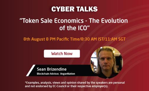 Token Sale Economics The Evolution Of The Ico Ec Council