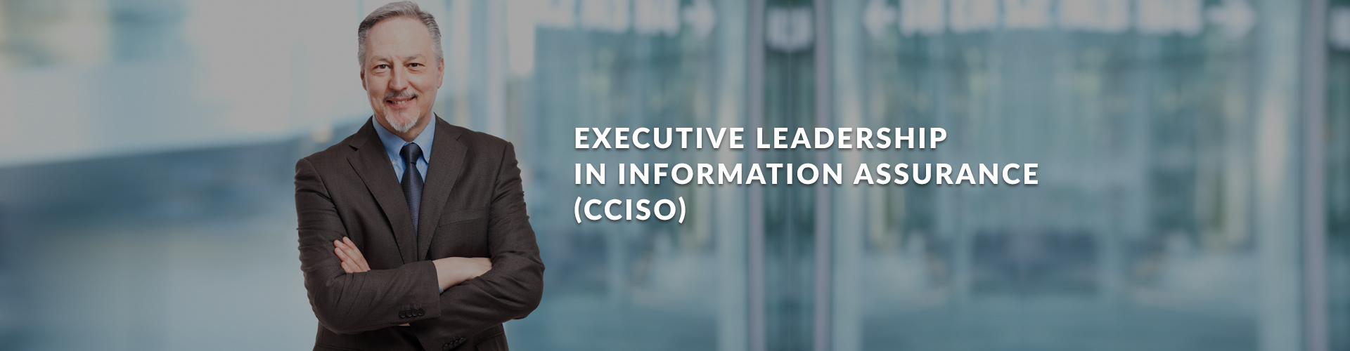 Executive Leadership in Information Assurance (CCISO)
