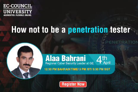 How not to be a penetration tester? - EC-Council University